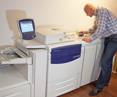 Digitaldruck Xerox DP700 mit Boris Mikula